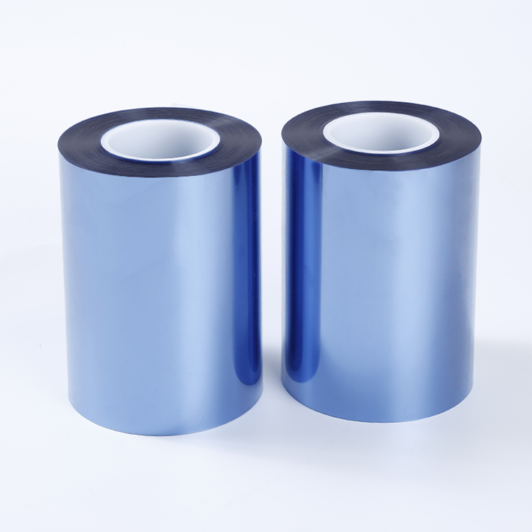 High Flatness Static Small Bopet Blue Film Blue Pet Film For Coated Tape Decorative Materials