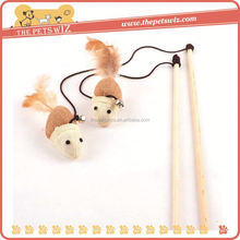 Virtual cat teaser ,CC067 cat teaser stick toy , cat toy interactive cat wand