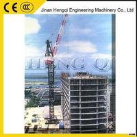 Welcome Wholesales hot sale promotion 70m jip length luffing tower cranes