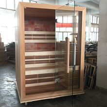HS-SR6067M cheap sauna cabin,corner sauna house,outdoor wooden sauna