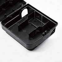 2015 Plastic Black Rat Repellent Rat Glue Trap Kill Rats