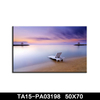 Marine nautical beach canvas printing decoration wall art painting poly canvas crafts