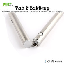 Adjustable voltage 2 V to 4 V cbd oil vape pen battery VAB-C with preheat function