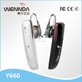 Good wrieless mono Earphone Bluetooth for mobile phone (Wennda Y660)