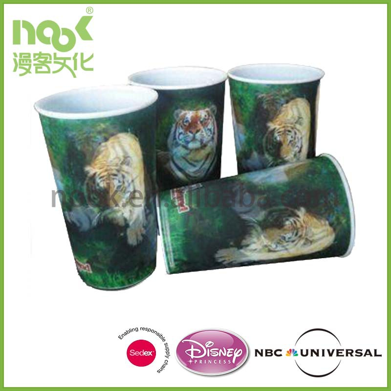 Disney Audited Factory Custom plastic cups animal