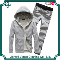 Men's Hoody Wholesale 100% Cotton Blank Plain Sweat suits Sweatshirts and Hoodies