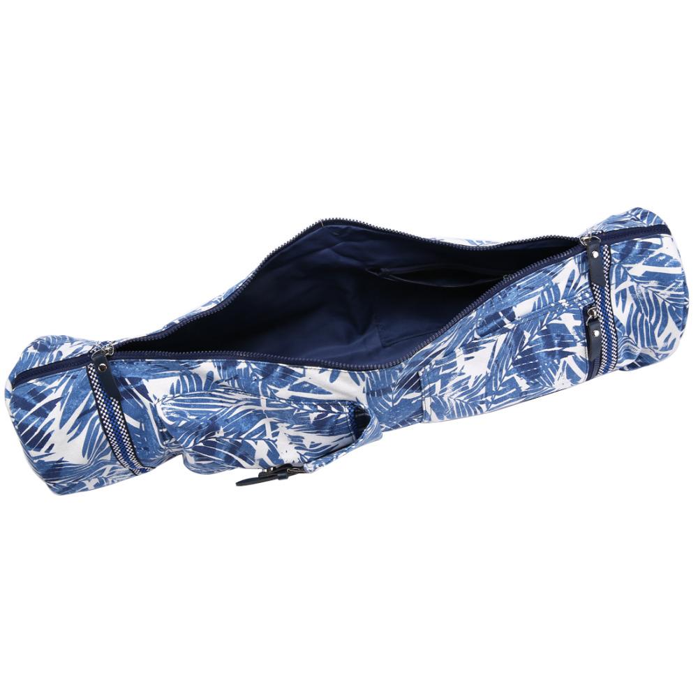 il y a dans de sac de yoga assez de place pour mettre plusieurs tapis