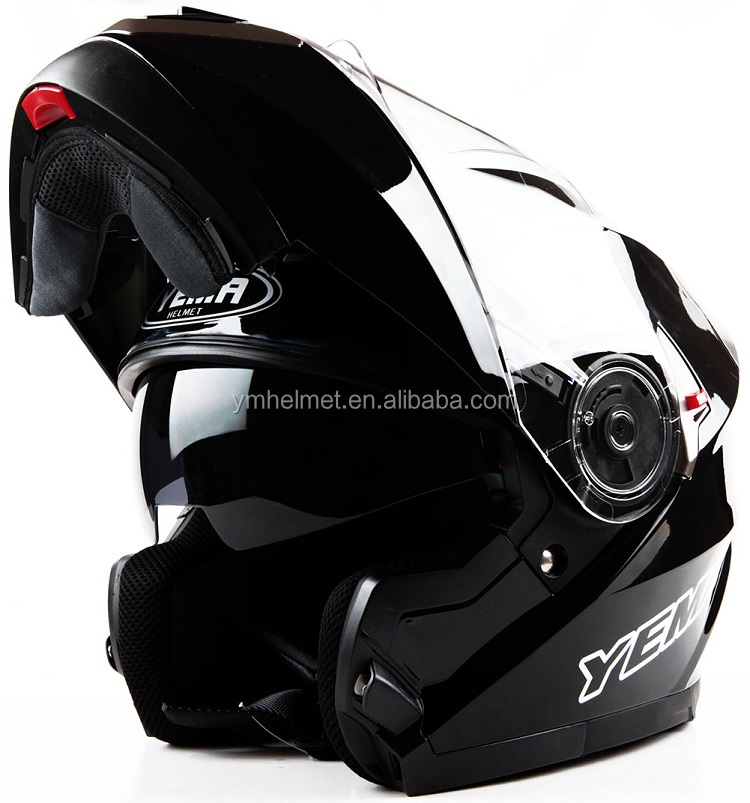 ABS fresh material helmet ECE / DOT approved motorcycle flip up helmet (YM-925)