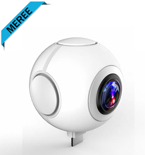 Dual Lens 360 Degree Panoramic Action Camera