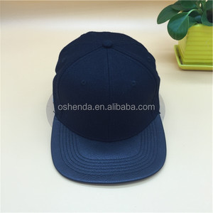 Hot customize plain snapback hats and caps wholesale