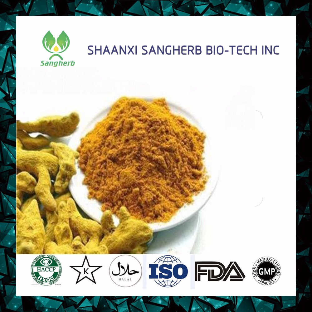 Natural turmeric root extract 95% curcumin
