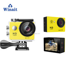 W9 H9 1080P waterproof motorbike extreme sports action camera, support bike/motorcycle/helmet mount