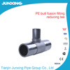 PE100 PEHD Pipe And Fittings butt fusion fittings tee reduced fittings
