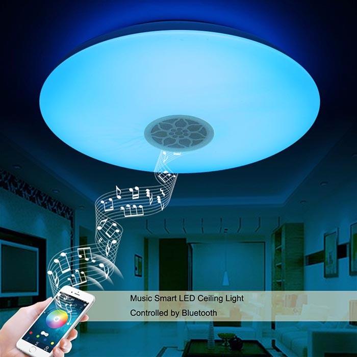 LED lámparas de techo dormitorio flor minimalista atmósfera ...