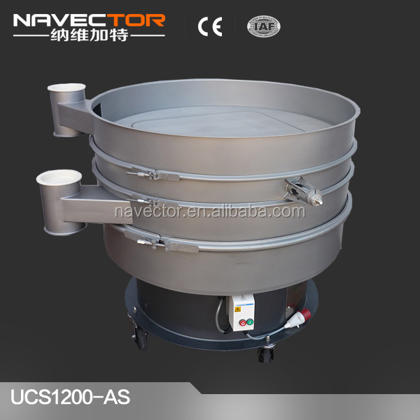 CE&ISO high quality 30 mesh rotary vibrating sieve
