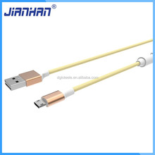 High quality aluminum casings TPE alloy nylon braided usb cable