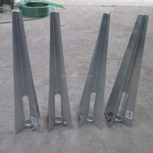 Low Price Welded Fence Post Spike / Fence Post Holder /Post ground holder