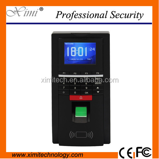 Biometric fingerprint access control system MF131 door access control with card reader