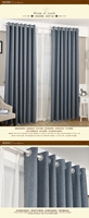 2015 european style window curtain in china