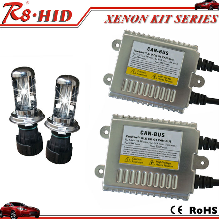 2016 Lastest HID canbus kit G4 35W H4 hi/lo h4 h/l bi-xenon lamp hid warning canceler no error