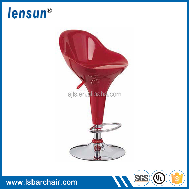 Cheap Price Hydraulic Bar Stool Cheap ABS Plastic Style 360 Degree Swivel Chair
