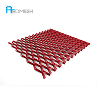 Made In Guangdong RP Aluminum Expanded Metal Mesh Expanded Decorative Sheet Metal Panels