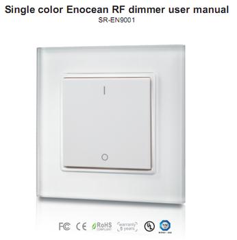 smart home automation intelligent terminal enocean led. Black Bedroom Furniture Sets. Home Design Ideas