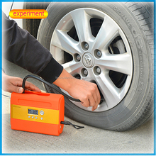 Car air tools electric 12volt high volume tyre inflator with gauge