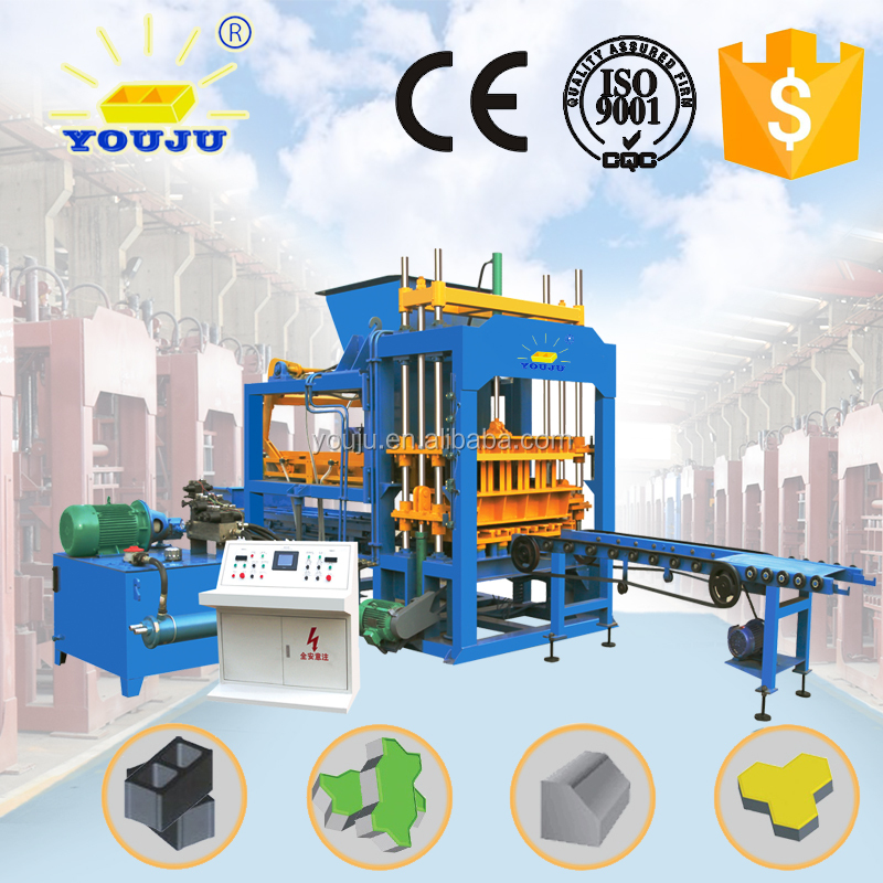 QT5-15 automatic beton block making machine for sale
