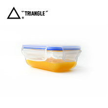 China Online Shopping Airtight High Borosilicate glass food storage containers