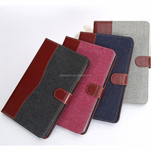 OEM manufacture wholesale price belt clip stand wallet case for ipad mini 3
