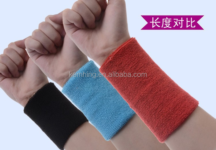 Breathable support knitted wrist band wraps fashion elastic wrist support