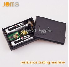 Hot new products 2014 electronic cigarette vaporizer atomizer resistance tester ohm reader testing machine from JOMO factory