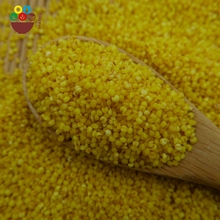 Wholesale 2017 new crop hulled yellow millet for bird seeds