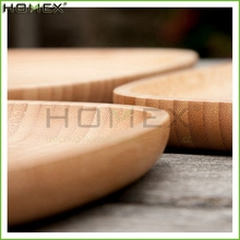 Bamboo tea tray / custom printed serving tray Homex-BSCI