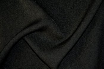 formal black fabric