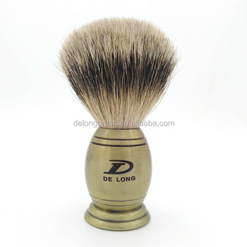 Best Badger Shaving Brush with Luxury Metal Handle