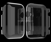 For Apple Watch Durable Transparent PC Smart Covers Cases