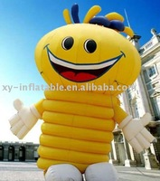 2014 Inflatable Happy Face Moving Cartoon