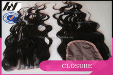 100% Brazilian Human Hair Silk Top Base Closure ,Wholesale Price Closure , 100% Pure Brazilian Human Hair