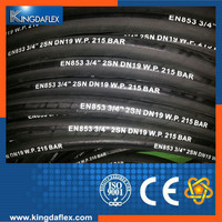 Crane Transport Used Rubber Hydraulic Hose SAE100 R1AT