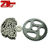 Replacement Motorcycle Chain And Sprocket Kits, Optional Color Motorcycle Chains