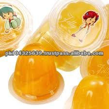 Fruit Jelly in Cups