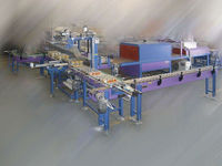 Shrink packing machine line