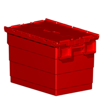Adjustable plastic tote box plastic moving box sale