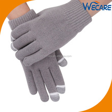Custom 3 Fingers Unisex Winter Magic Phone Sensitive Touch Screen Gloves