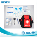 2018 New Trending Product First Aid Kit Messager Bag with Medical Equipment