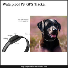Waterproof Newest Wireless Pet Tracker Portable Mini GSM GPS Dog/Cat Locator Waterproof gps cat tracking collars
