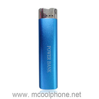 2600mah lipstick emergency mobile phone charger