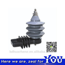 Factory Wholesale HuaZheng Electric Polymer Composite Zinc Oxide Lightning Arrester